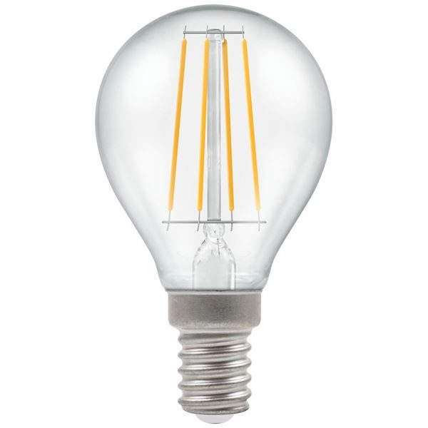 E14 Round Filament LED Lamp Dimmable