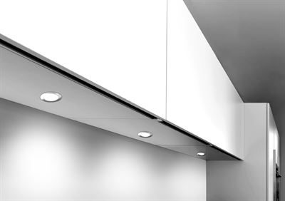 SY7453SSNW Sirius Recessed in situ kitchen under cabinet