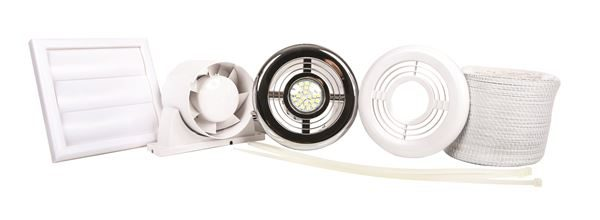 SY7688A Shower fan light kit