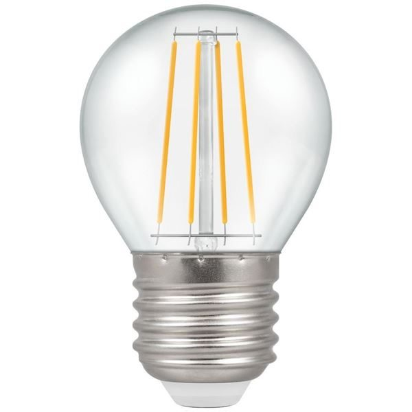 E27 Round Filament LED Lamp Dimmable