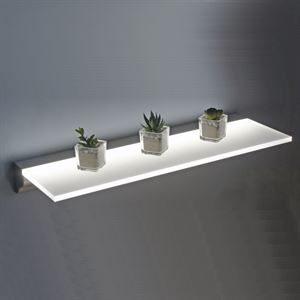 Illuminated Shelving & Back Panel